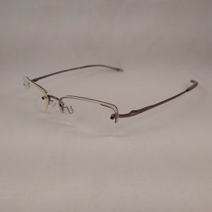 GUCCI Rx Eyeglasses GG1695 Purple Metal Oval Shape